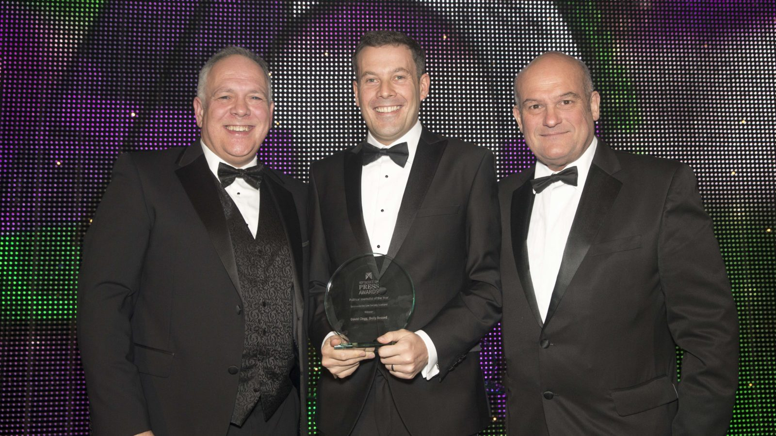 Political Journalist of the Year David Clegg, Daily Record