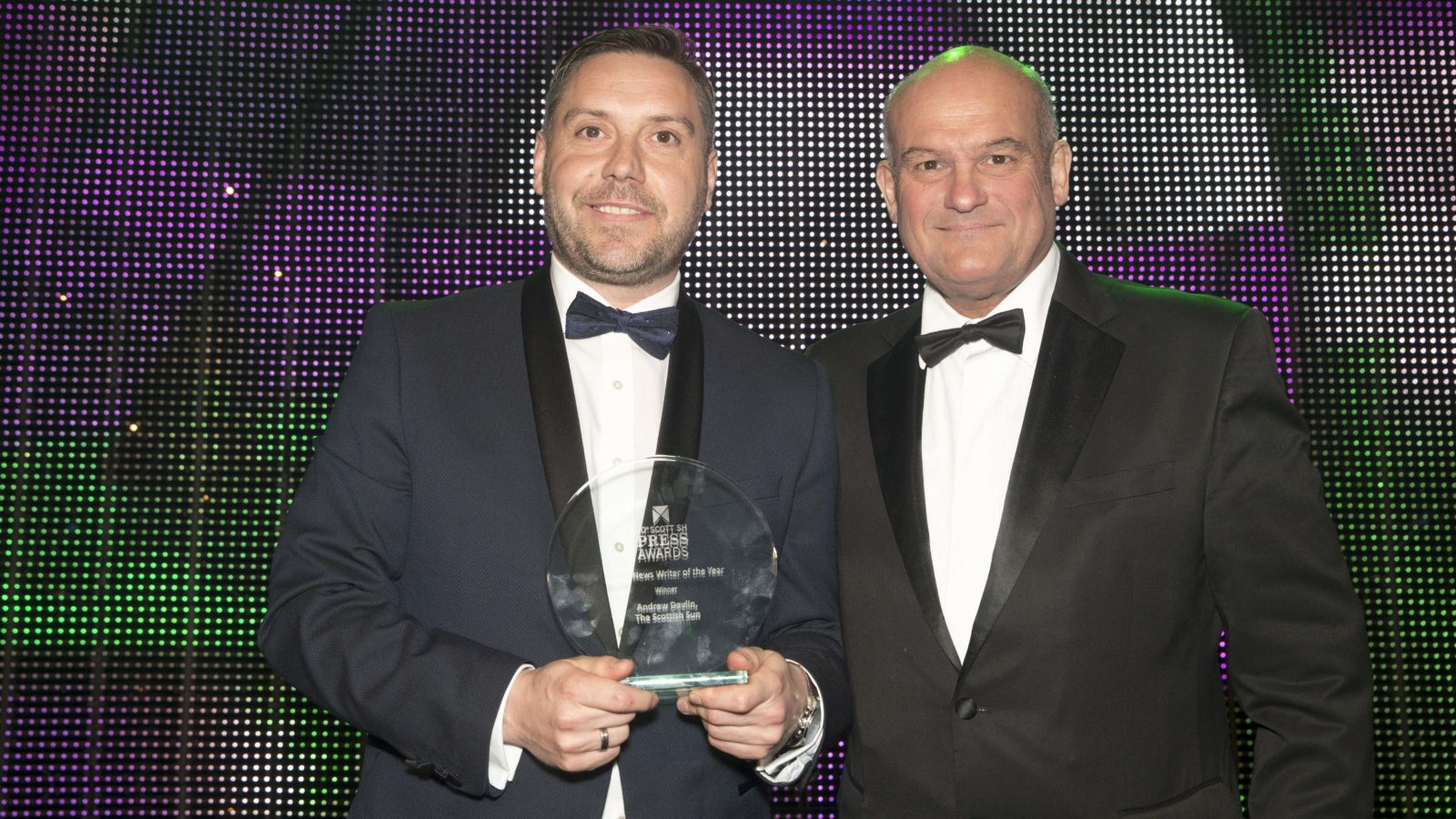 Sports News Writer of the Year Winner Andrew Devlin, The Scottish Sun