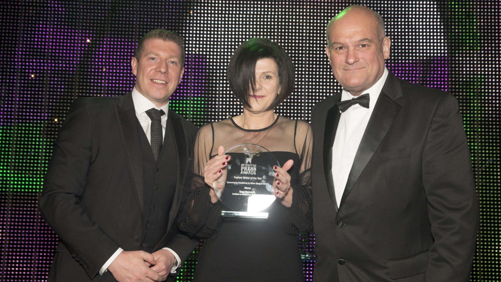 Feature Writer of the Year Dani Garavelli, Scotland on Sunday and The Scotsman
