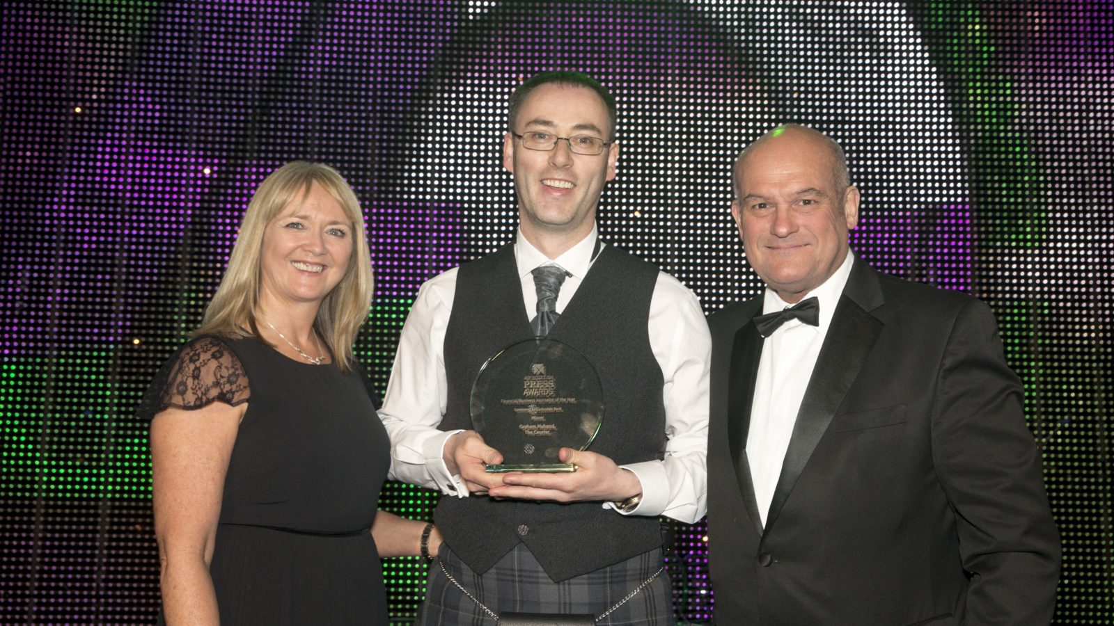 Financial/Business Journalist of the Year Graham Huband, The Courier