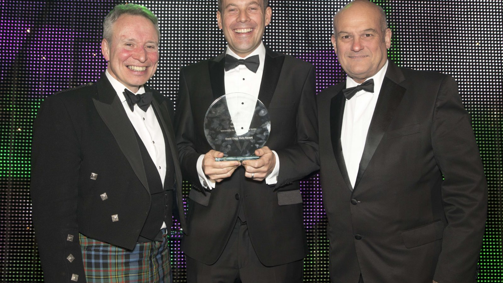 Scoop of the Year Sponsored by the Scottish Newspaper Society - @scotnewssociety Winner David Clegg, Daily Record
