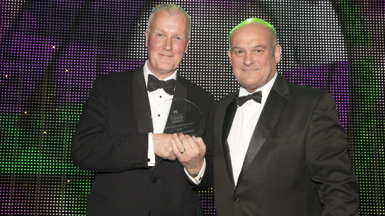 Sports Feature Writer of the Year Winner Aidan Smith, The Scotsman