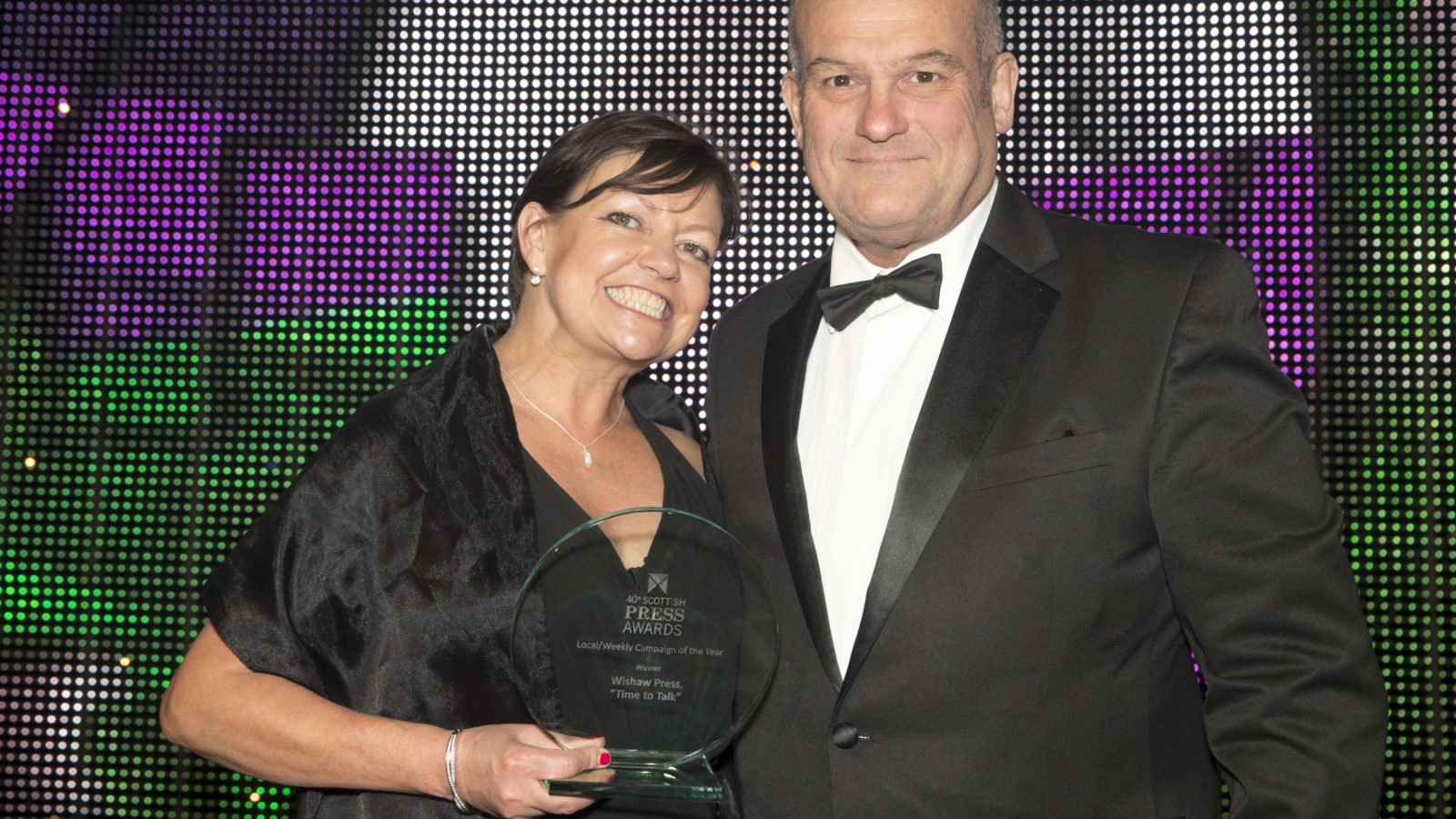 """Local/Weekly Campaign of the Year Winner Wishaw Press, """"Time to Talk"""""""